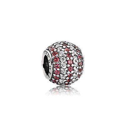 Pandora Red Nautical Pave Lights Charms