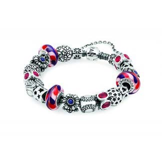 Pandora All American Inspirational Bracelet (RV5407)