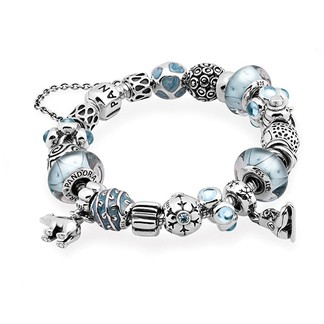 (VA7478) Pandora Let It Snow Inspirational Bracelet