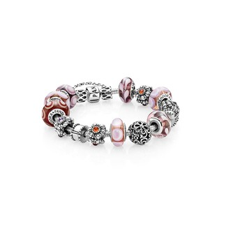 (BK9277) Pandora Tickled Pink Inspirational Bracelet