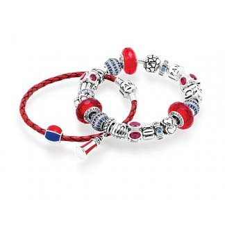 (PL9569) Pandora Harbor Lights Inspirational Bracelets