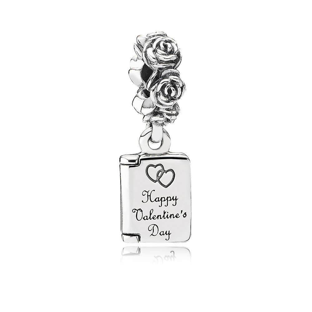 Valentine'S Day Card Dangle Charm