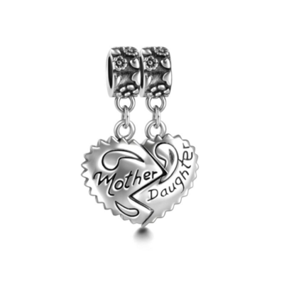 Pandora Pendant Charm Mother & Daughter Charm