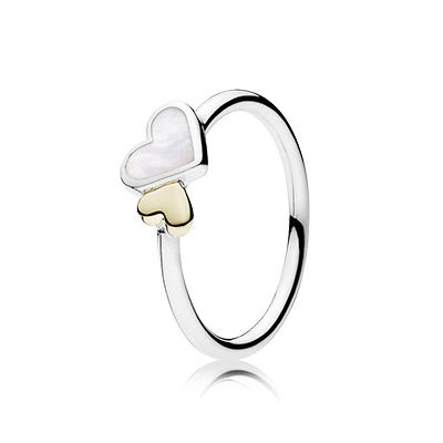 Luminous Hearts Ring
