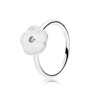 Luminous Floral Ring