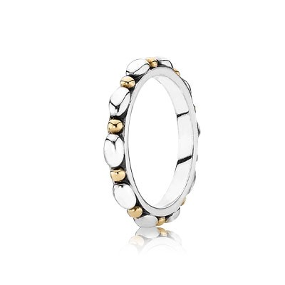 PANDORA Opposites Attract with 14K Stackable Ring