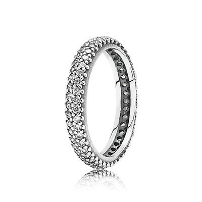 PANDORA Inspiration Within with Clear CZ pave Ring