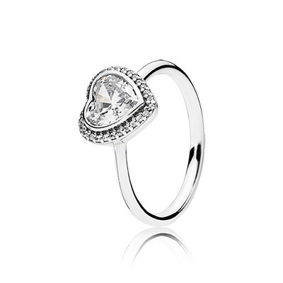 PANDORA Sparkling Love with Clear CZ Ring